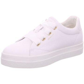 Gant Plateau Sneaker weiß