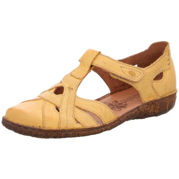 Josef Seibel Komfort Sandale gelb