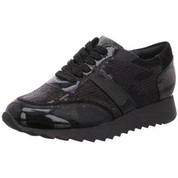 Hassia Komfort Schnürschuh schwarz