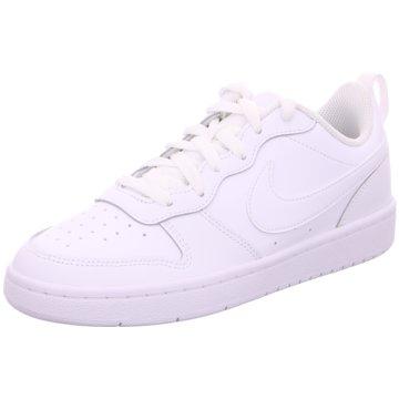 Nike Sneaker LowNike Court Borough Low 2 Big Kids' Shoe - BQ5448-100 weiß