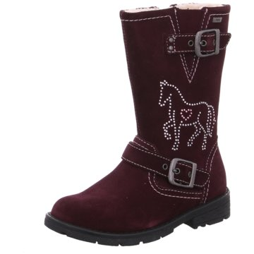 Lurchi Hoher Stiefel rot
