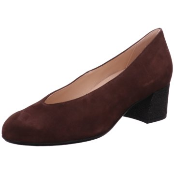 Hassia Bequeme Pumps rot
