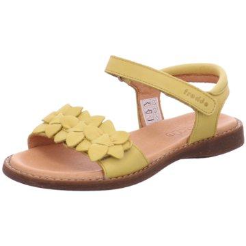 Froddo Offene Schuhe gelb