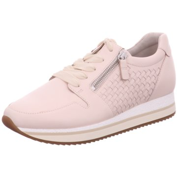 Gabor Sportlicher Schnürschuh rosa