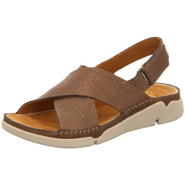Clarks Komfort SandaleTri Alexia braun