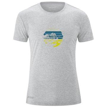 Maier Sports T-ShirtsMYRDAL SUN - 152034 grau