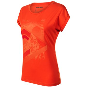 Mammut LangarmshirtMOUNTAIN T-SHIRT WOMEN - 1017-00962 orange