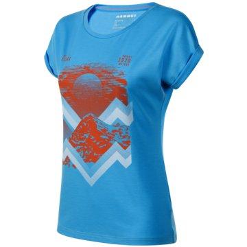 Mammut T-ShirtsMOUNTAIN T-SHIRT WOMEN - 1017-00962 blau
