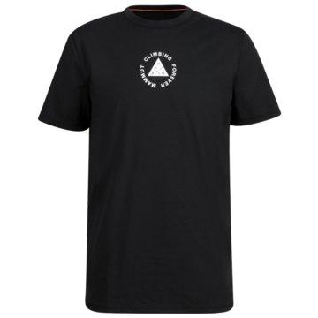 Mammut T-ShirtsMASSONE T-SHIRT MEN - 1017-02900 schwarz