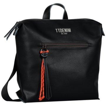 Tom Tailor Rucksack schwarz