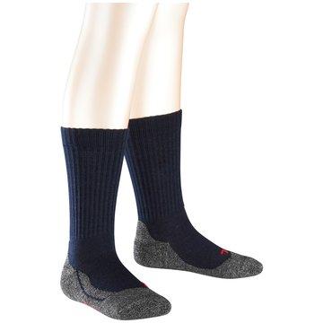 Falke Hohe SockenActive Warm blau