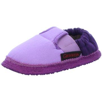 Giesswein Kleinkinder Mädchen lila