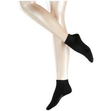 Falke kurze Socken schwarz