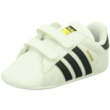 adidas Originals Kleinkinder MädchenSUPERSTAR CRIB - S79916 weiß
