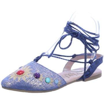 xyxyx Top Trends Ballerinas blau