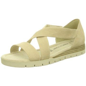Marco Tozzi Komfort Sandale beige