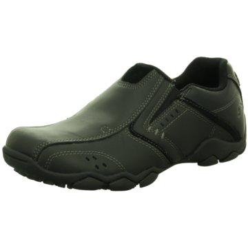 Skechers Komfort Slipper schwarz