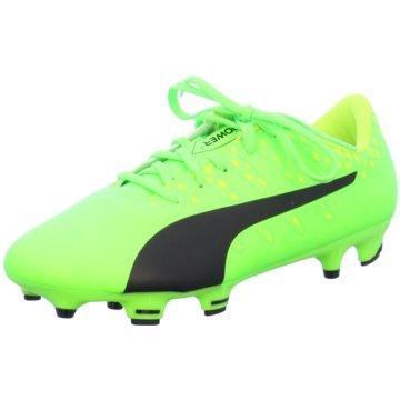 Puma Fußballschuh grün