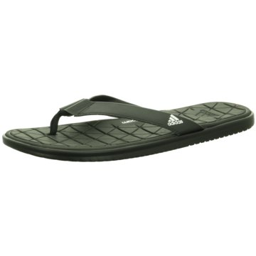 adidas Bade-Zehentrenner schwarz