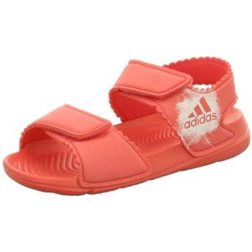 adidas Sandale rot
