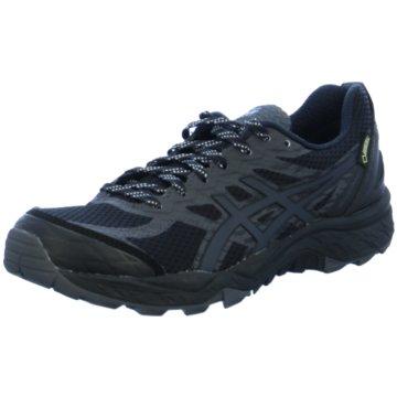 asics TrailrunningGel-FujiTrabuco 5 G-TX Damen Laufschuhe Running schwarz schwarz