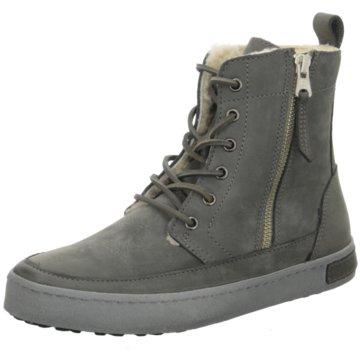 Blackstone Sneaker High grau