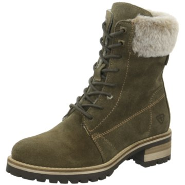 Tamaris Boots grün