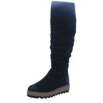 Tamaris Plateau Stiefel blau