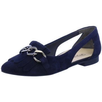 Paul Green Top Trends Ballerinas blau
