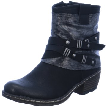 Rieker Klassische Stiefelette schwarz
