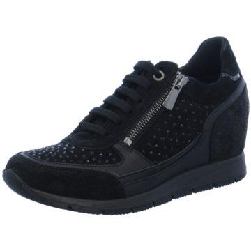 Igi&Co Sneaker Wedges schwarz