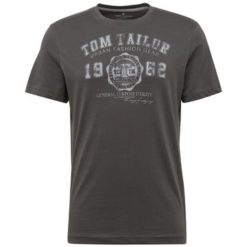 Tom Tailor T-Shirts print grau