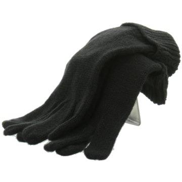 Seiden-Grohn Handschuhe Damen schwarz