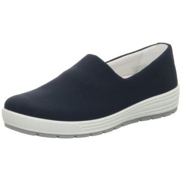 ara Komfort Slipper blau
