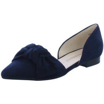 Peter Kaiser Klassischer Ballerina blau