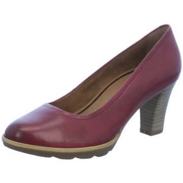 Tamaris Plateau Pumps rot