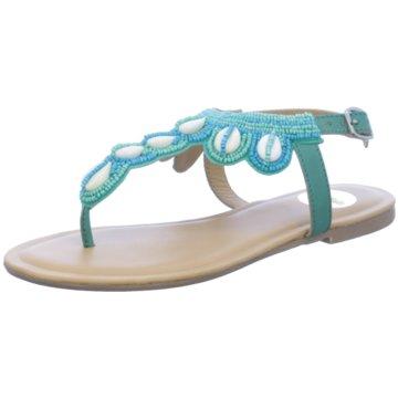 Buffalo Sandalette blau