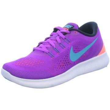 Nike RunningFree Run Damen Runningschuh lila lila
