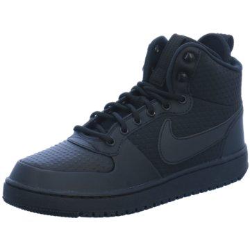 Nike Sneaker HighCourt Borough Mid Winter Sneaker Herren Schuhe schwarz schwarz