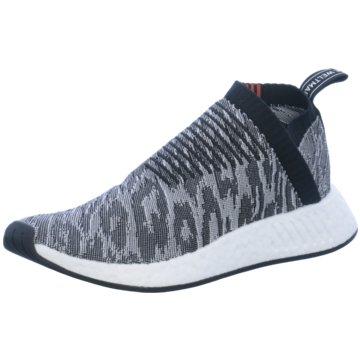 adidas Sportlicher Slipper grau
