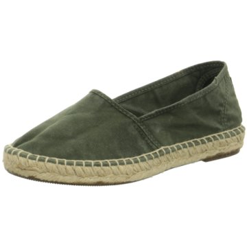 Natural World Eco Espadrille grün