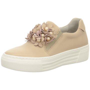 Gabor comfort Plateau SlipperSneaker beige