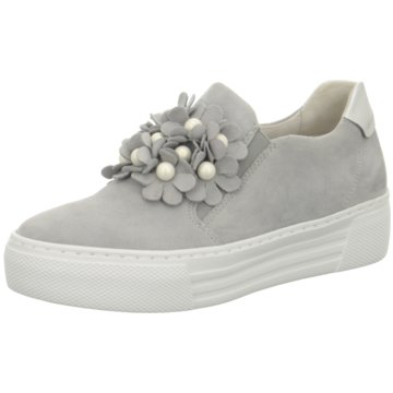 Gabor comfort Plateau SlipperSneaker grau