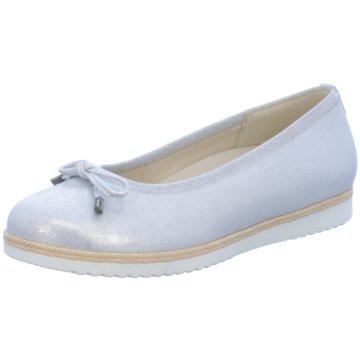 Gabor comfort Klassischer Ballerina grau