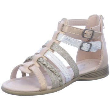 Indigo Offene Schuhe gold