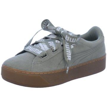 Puma Plateau Sneaker grau