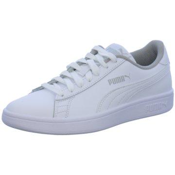 Puma Sneaker LowPuma Smash FUN L Jr weiß