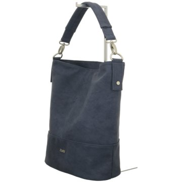 Zwei Taschen blau