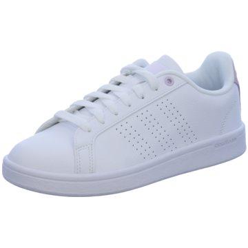 adidas Sneaker LowCloudfoam Advantage Clean Women weiß