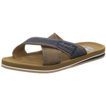 Australian Footwear Pantolette braun